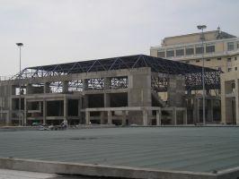 Στέγη αθλητικού κέντρου στην Θεσσαλονίκη - 2004