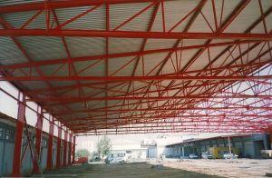 Κτίριο αποθήκης στην ΒΙ.ΠΕ.Θ - 2000